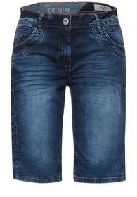 Blaue Loose Fit Shorts