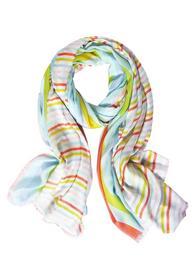 Schal mit Streifen Muster