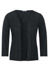 TOS Open T-Shirtjacket - 12538/carbon grey