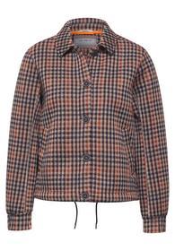 Short Check Jacket