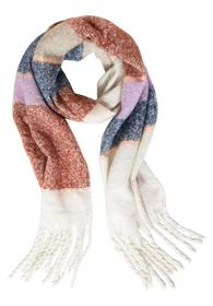 Brushed Woven Stripe Scarf