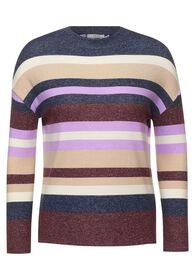 Shirt mit Streifen Muster