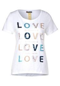 T-Shirt mit Schrift