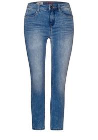 Hellblaue High Waist Denim