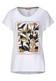 T-Shirt mit Pailletten-Deko
