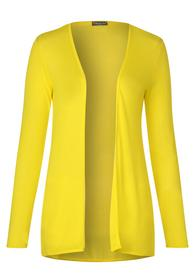 fine long jacket - 12201/shiny yellow