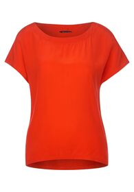 cupro-mix shirt