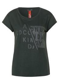rhinestones wording shirt