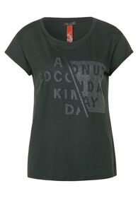 T-Shirt mit Strasssteinen