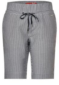 Seersucker-Bermuda Shorts