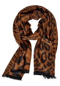 Jacquard-Schal mit Print
