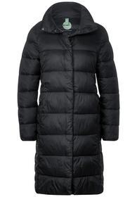 Langer Mantel mit Steppungen