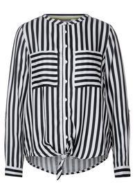 LTD QR Striped blouse