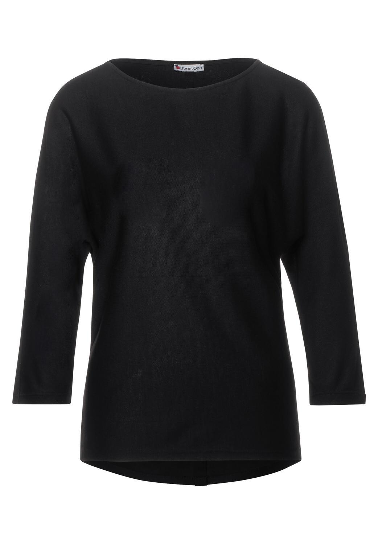 QR batwing shirt