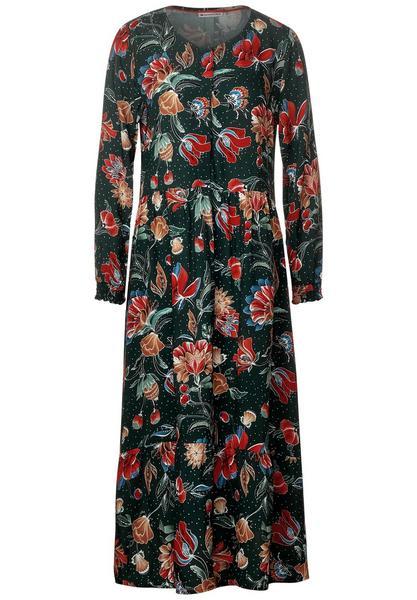 Printed Midi dress_L124