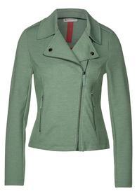 Biker Style-Jacke aus Jersey