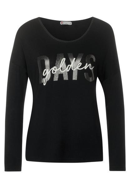 Golden Days Print-Shirt