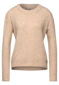 rib jumper. heavy knit
