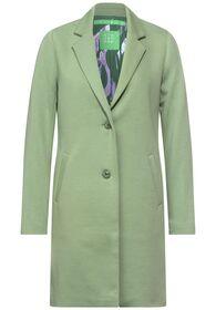 LTD QR elastic revers coat