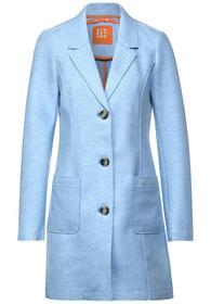 Mantel in Woll-Optik