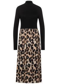 Mat Mix Dress_Midi_L124