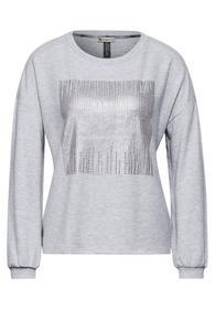 LTD QR cosy foilprint shirt