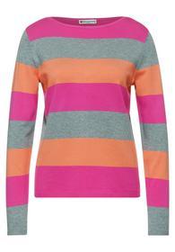 striped u-boat. fine knit