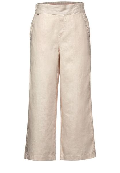 Style Emee Linen solid Wide Le, breeze sand