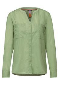 LTD QR Cotton splitneck blouse