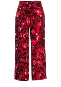 Style LTD QR Emee PRINT Viscos - 33053/spice red