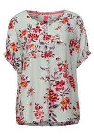 Bluse mit Minimal Muster