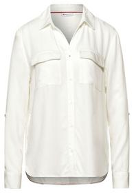 Shirtcollar blouse with pocket