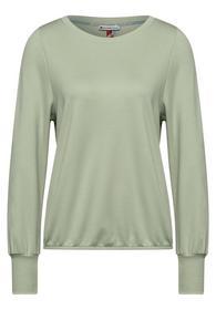 Shirt mit hohen Bündchen