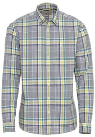 Langarm Hemd regular fit aus 100% Baumwolle