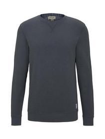 overdyed basic sweatshirt - 10668/Sky Captain Blue