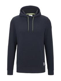 sporty basic hoodie - 10668/Sky Captain Blue
