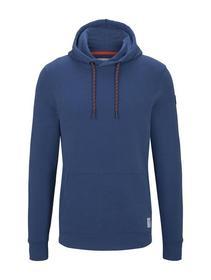 sporty basic hoodie - 16340/after dark blue