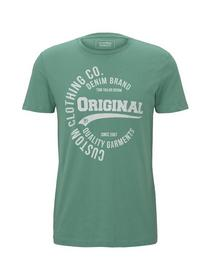 NOS T-shirt with print - 21206/spearmint green
