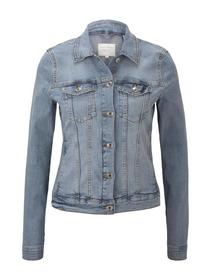 Denim riders jacket