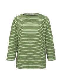 Sweatshirt striped structure