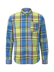 ray oversized colourful check