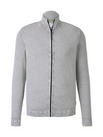 washed zip jacket