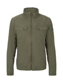 casual cotton touch jacket - 13050/Olive Night Gre