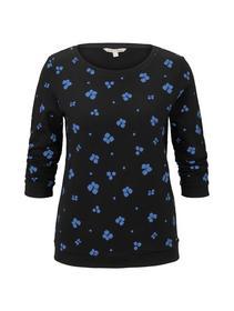 basic print sweater