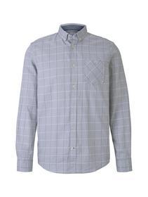 ray twill check shirt