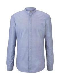 dobby clipper shirt - 22042/blue white dobby strip