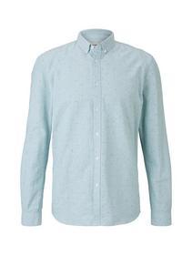 allover printed oxford shirt