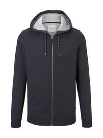 sweatjacket with tippings