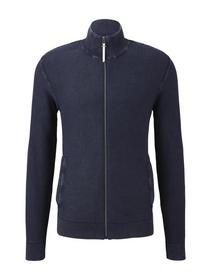 structured jacket with wash