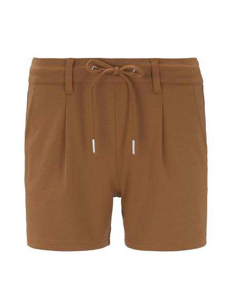 Sweatpants Shorts - 22110/mango brown